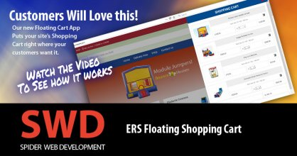 ERS Floating Shopping Cart
