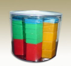 Stackable Plastic Weights Set